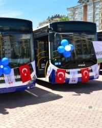 Kahramanmaraş'a Yeni Belediye Otobüsleri