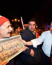 Kahramanmaraşspor'da Şampiyonlur Coşkusu