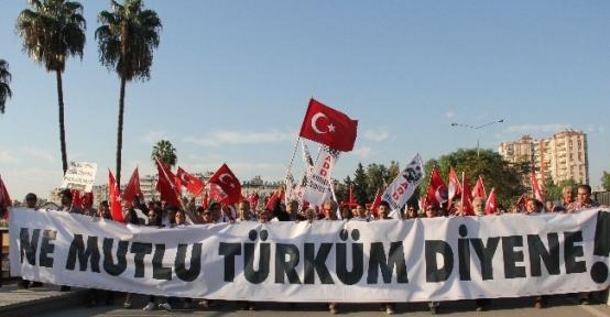 Adana'da Alternatif Cumhuriyet Bayramı Kutlaması