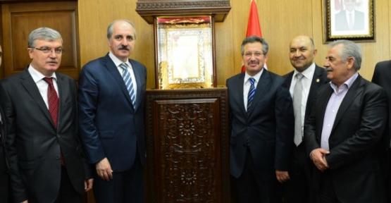 AK Parti Genel Başkan Yrd. Numan Kurtulmuş Kahramanmaraş'ta