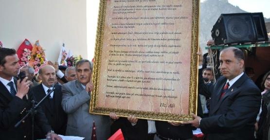 Amasya'da İlk Cemevinin Açılışı Yapıldı