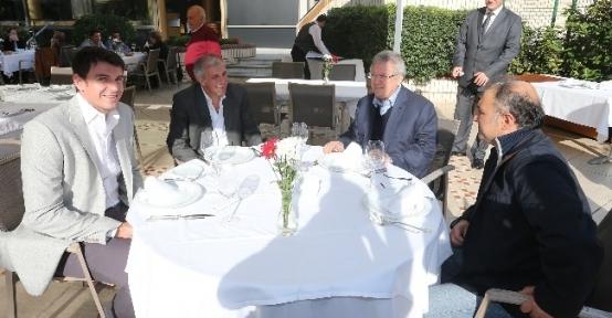 Aziz Yıldırım, Obradovic'le Yemekte Bir Araya Geldi