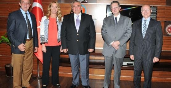 Belçika Büyükelçisi Marc Trenteseau, Atso'yu Ziyaret Etti