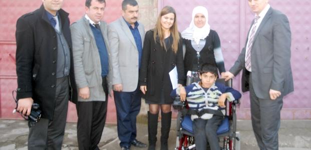 Büyükşehir Belediyesi, Engelli Öğrenciyi Sevindirdi