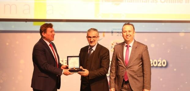 Büyükşehir'e Yılın Ulaşım Projesi Ödülü