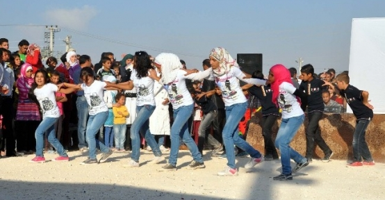 Çadır Kentte 29 Ekim Kutlamaları