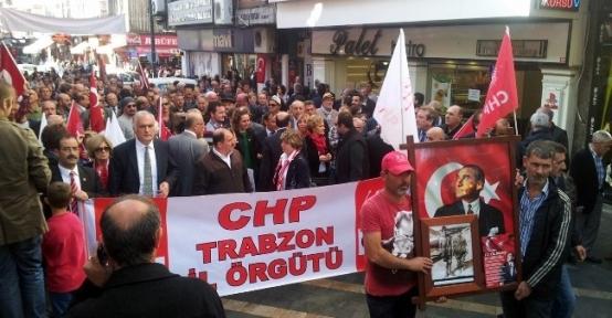 Chp Trabzon'da 29 Ekim Cumhuriyet Bayramını Horonla Kutladı
