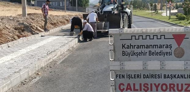 DERELİ MAHALLESİ YOLU TAMAMLANIYOR