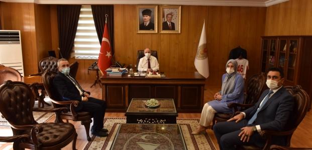 DEVA PARTİSİ'NDEN KAHRAMANMARAŞ VALİSİ ÖMER FARUK COŞKUN'A ZİYARET