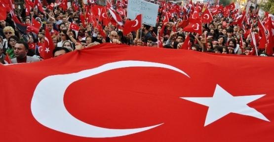 Eskişehir'de 'cumhuriyet Yürüyüşü'