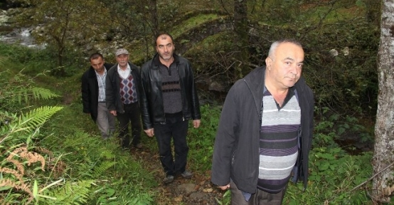 Giresun'da Köylülerin Yol Çilesi