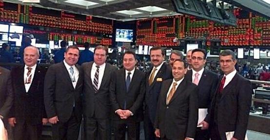 Gtb Başkanı Ahmet Tiryakioğlu Chicago Borsası'nda