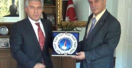 Hocalardan Başkan Karahan'a Teşekkür Ziyareti