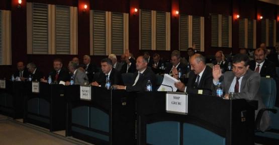 İl Genel Meclisi Ekim Ayı Toplantısı Yapıldı