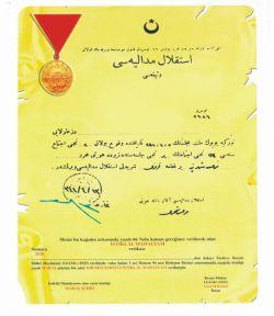 İstiklal Madalyası