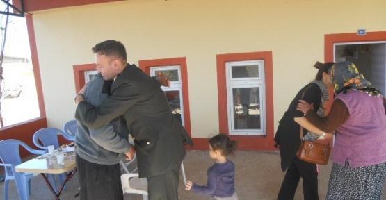 Jandarma Komutanı Mazılıgüney, Şehit Aileleri İle Bayramlaştı
