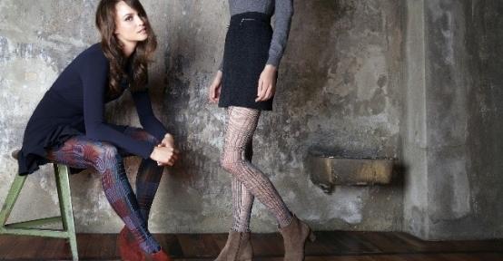 """Kadınların Gözdesi 'desenli"""" Çoraplar"""