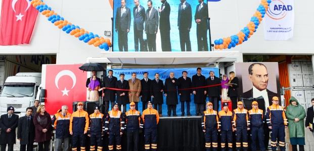 Kahramanmaraş Afad Lojistik Merkezi Açıldı