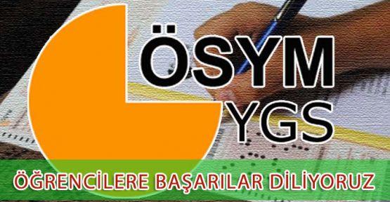 Kahramanmaraş Belediye Başkanı Mustafa Poyraz, 24 Mart 2013 Pazar günü YGS sınavına girecek olan öğrenciler için başarı mesajı yayınladı.