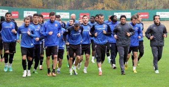 Karabükspor, Galatasaray Maçı Hazırlıklarını Tamamladı