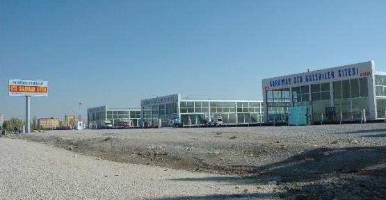 Karaman'da Oto Galeriler Sitesi Hizmete Girdi