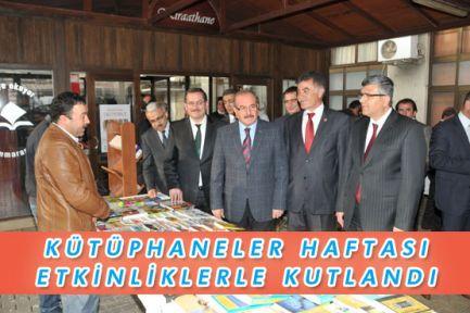 Kütüphaneler Haftası Etkinliklerle Kutlandı
