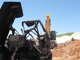 Malatya'da iş makinesi devrildi: 1 ölü