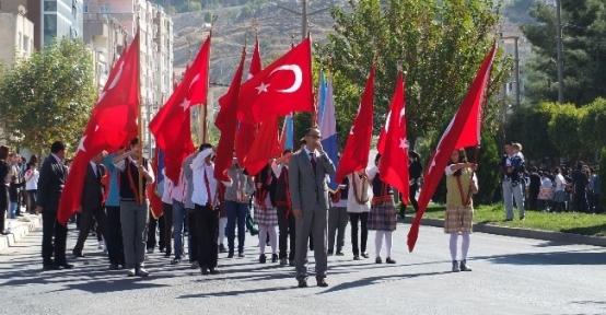 Mardin'de 29 Ekim Cumhuriyet Bayramı Kutlamaları