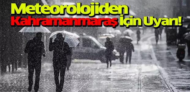 Meteorolojiden Sağanak Yağış İçin Uyarı!
