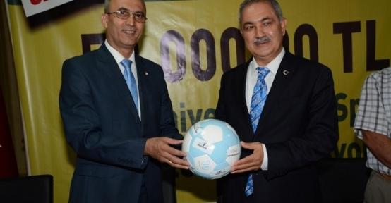 Osmaniye Belediyesi'nden Amatör Spor Kulüplerine Maddi Destek