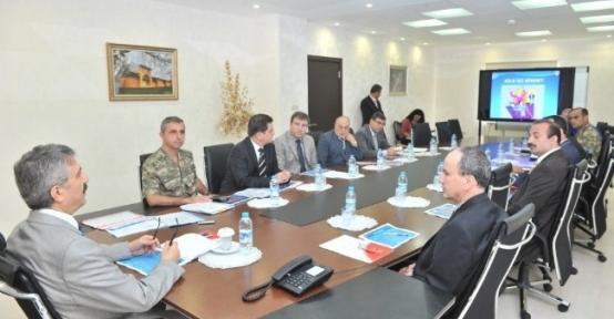 Osmaniye'de Aile İçi Şiddete Karşı Koruma Tedbirleri Toplantısı