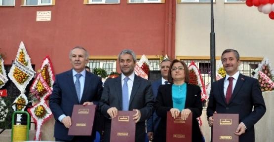 Şahinbey Belediyesi 3. Okulun Yapımı İçin Protokol İmzaladı