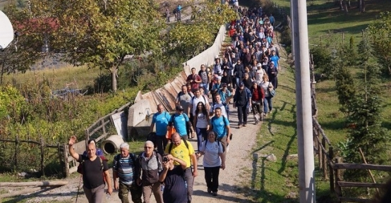 Sapanca'da Yeşile Yürüyüş