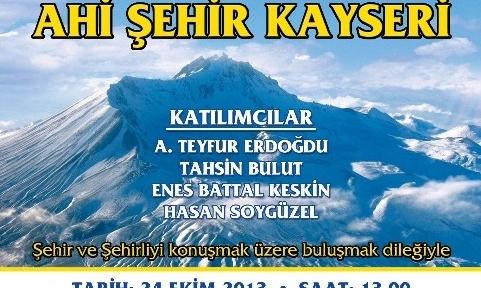 Şehir(li) Atölyesi Kayseri'de
