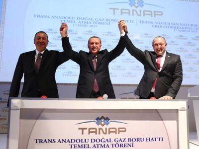 """'TANAP; Barış, Huzur ve Refah ile Birlikte Zikredilecek Bir Projedir"""""""