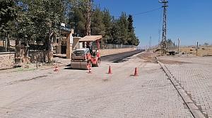 Abdulhamithan Bulvarı'na sıcak asfalt