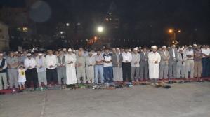 Binlerce Kişi Katliamlara Tepki Gösterisinde Buluştu