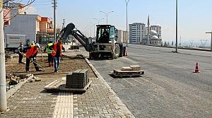 Büyükşehir'den Yaya Yollarına Düzenleme