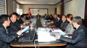 İlçe Kaymakamları ile Yatırım Değerlendirme Toplantısı