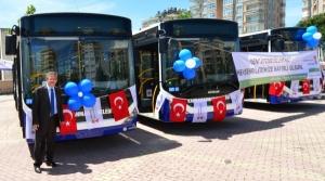 Kahramanmaraş Belediyesinden 11 Yeni Halk Otobüsü