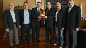 Kuyumcular Odasından Başkan Poyraz 'ı Ziyaret