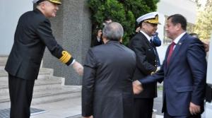 Komisyonu Üyesi Mehmet Ramazanoğlu Donanma Komutanlığında