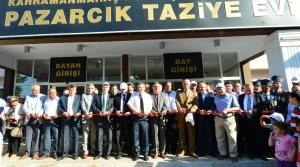 Pazarcık Taziye Evi Düzenlenen Törenle Hizmete Açıldı