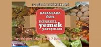 12 Şubat Etkinlikleri Bayanlara Özel Yöresel Yemek Yarışması