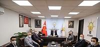 BAŞKAN EJDER AKBAŞ'TAN AK PARTİ TEŞKİLATI...