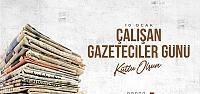 Başkan Güngör'den Gazeteciler Günü...