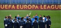 Fenerbahçe, son antrenmanını Roma Olimpiyat Stadı'nda yaptı
