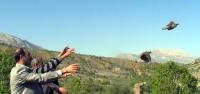 Kahramanmaraş'ta Yetiştirilen Kınalı Keklikler Gölbaşı'nda Bırakıldı