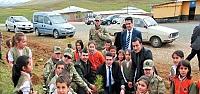 Jandarma ve İlçe Milli Eğitim'den Fidan Dikimi