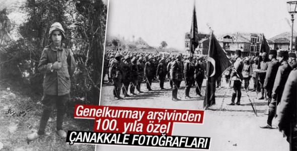 TSK'dan 100. yıla özel Çanakkale fotoğrafları